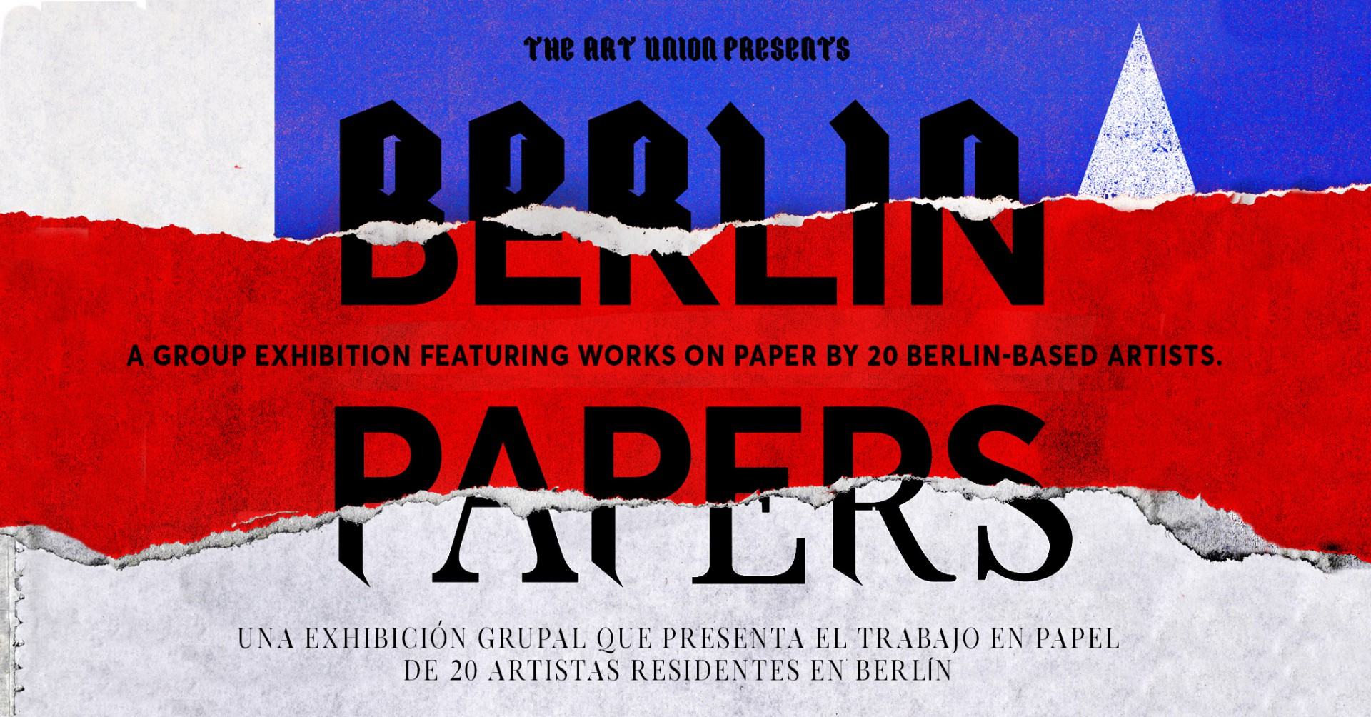 THE ART UNION Berlin Papers – a group exhibition featuring works on paper by 20 Berlin-based artists